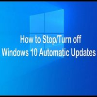 How to Stop Windows 10 Updates permanently