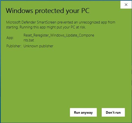 How to Reset Windows Update in Windows 10