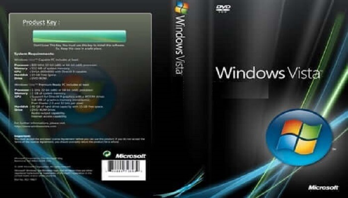 Windows Vista Product Key