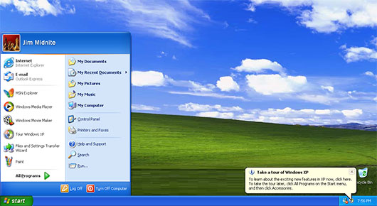 Windows XP Professional 32-bit Service Pack 3