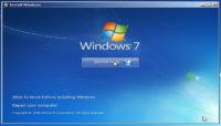 install windows 7 from USB drive