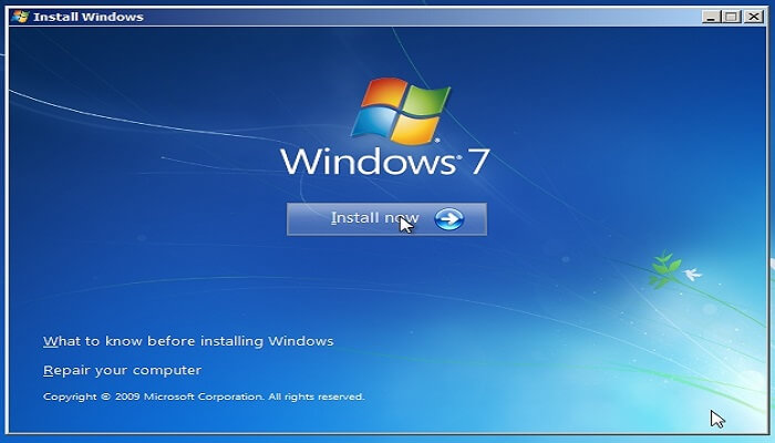 How to Install Windows 7 From USB Drive