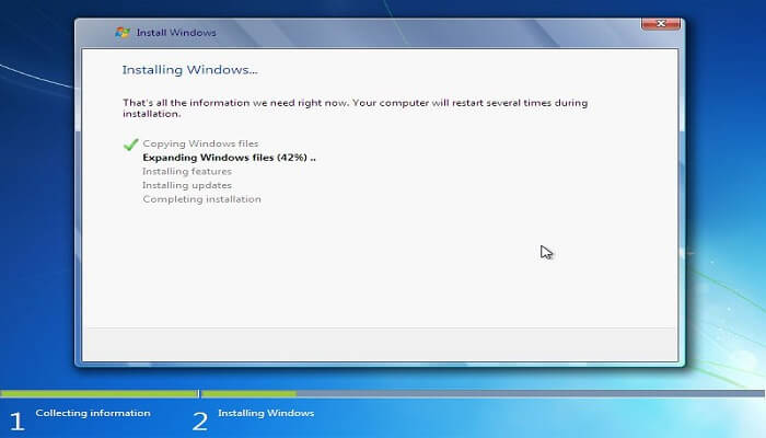 How to install windows - installing windows