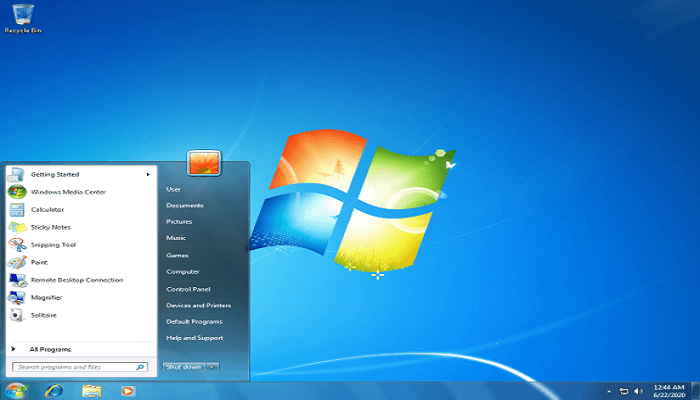 How to install Windows - desktop