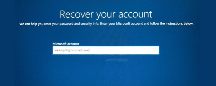 login to your microsoft account