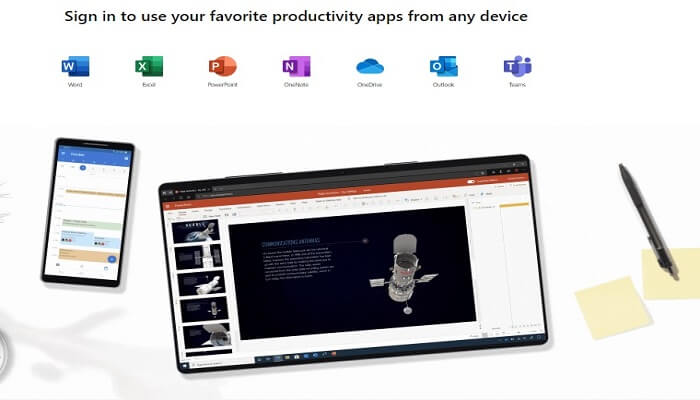 Download MS office from Office.com